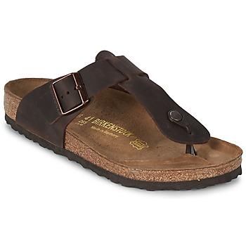 Chaussures Homme Tongs Birkenstock MEDINA PREMIUM Marron