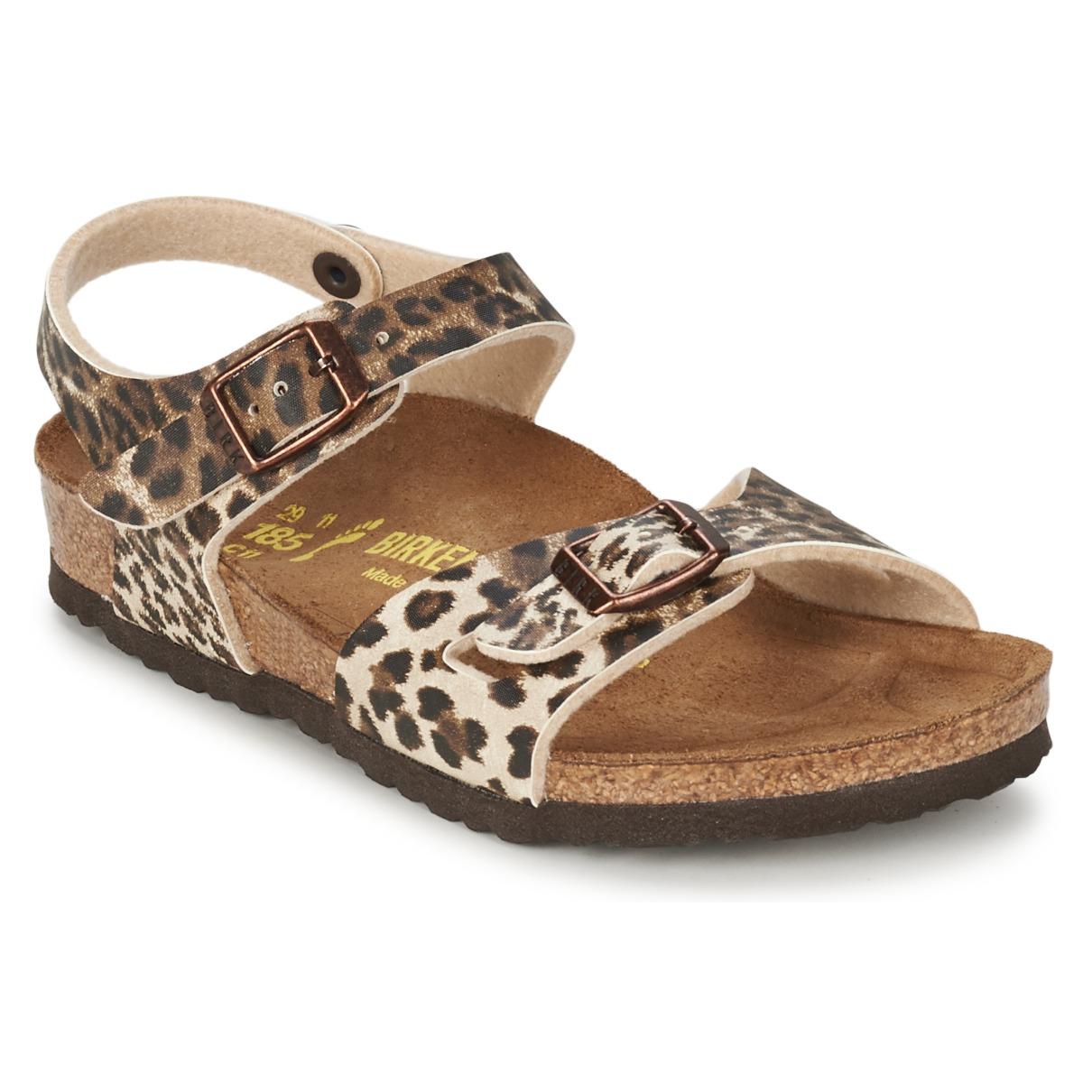 birkenstock rio leopard marron chaussure pas cher avec chaussures sandale. Black Bedroom Furniture Sets. Home Design Ideas