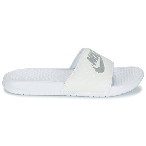 Nike BENASSI JUST DO IT W Blanc / Argent
