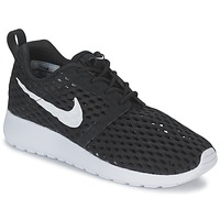 Chaussures Garçon Baskets basses Nike ROSHE ONE FLIGHT WEIGHT BREATHE JUNIOR Noir