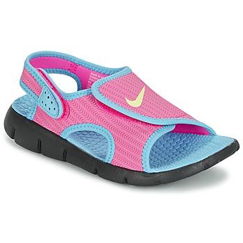 Sandale Nike SUNRAY ADJUST 4 Rose / Bleu