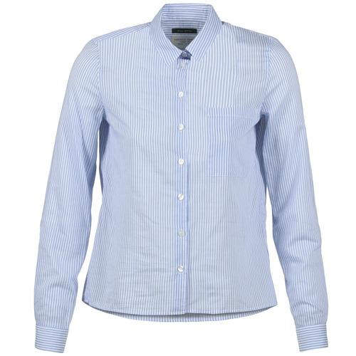 Vêtements Femme Chemises / Chemisiers Marc O'Polo DEUZIA Bleu