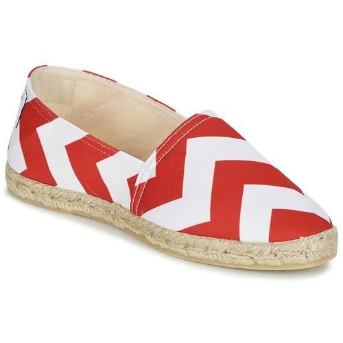 Chaussures Femme Espadrilles Maiett NOUVELLE VAGUE Rouge / Blanc