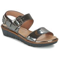 Chaussures Femme Sandales et Nu-pieds Wonders LAMETOP Gris argent