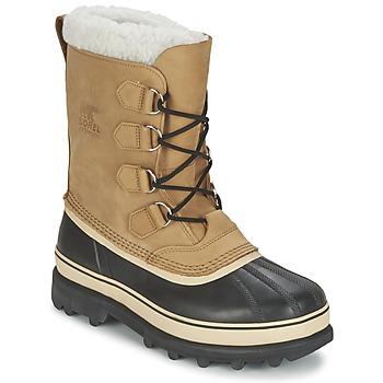 Chaussures Homme Bottes de neige Sorel CARIBOU Beige