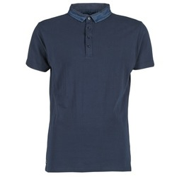 Vêtements Homme Polos manches courtes Deeluxe AGAINER Marine