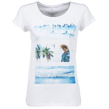 Vêtements Femme T-shirts manches courtes Deeluxe TRYP GIRL Blanc