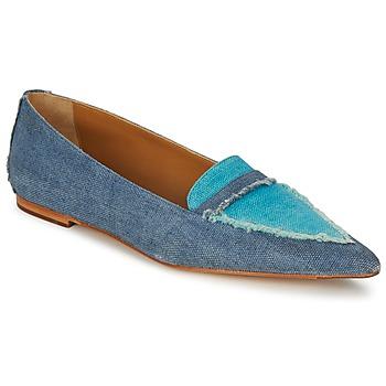Chaussures Air max tnFemme Ballerines / babies Castaner KATY Bleu Jean