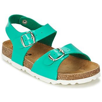 Chaussures Fille Sandales et Nu-pieds Citrouille et Compagnie RELUNE Turquoise / Charol