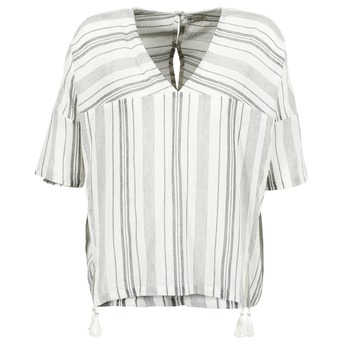 Vêtements Femme Tops / Blouses Stella Forest OWONI Ecru / Gris