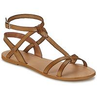 Chaussures Femme Sandales et Nu-pieds So Size BEALO Marron