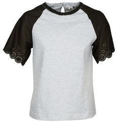 Vêtements Femme T-shirts manches courtes Manoush FANCY Gris / Noir