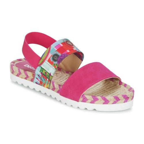 Chaussures Femme Sandales et Nu-pieds Desigual FORMENTERA Rose