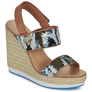 Chaussures Femme Sandales et Nu-pieds Mellow Yellow VABLISS Bleu