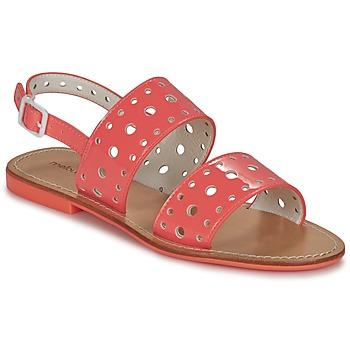 Chaussures Femme Sandales et Nu-pieds Mellow Yellow VADINA Corail