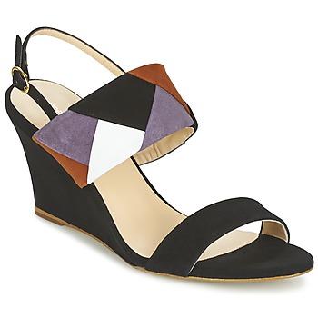 Chaussures Femme Sandales et Nu-pieds Mellow Yellow VEPALE Noir