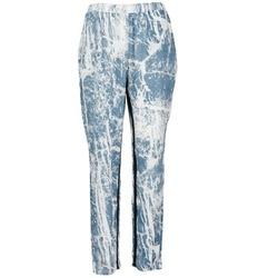 Vêtements Femme Pantalons fluides / Sarouels Vila GRUNGE ME Bleu / Blanc