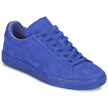 Puma SUEDE CLASSIC + COLORED WN'S Bleu