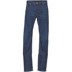 Vêtements Homme Jeans droit Diesel WAYKEE Bleu foncé