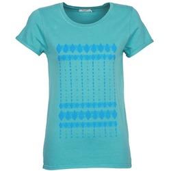 Vêtements Femme T-shirts manches courtes Kulte JULIETTE BATIK Bleu