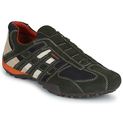Chaussures Homme Baskets basses Geox SNAKE L Gris