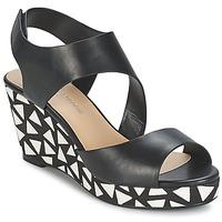 Chaussures Femme Sandales et Nu-pieds Moony Mood EPALINE Noir