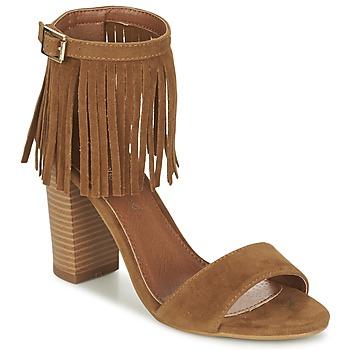 Chaussures Femme Sandales et Nu-pieds Moony Mood ERANDA Camel