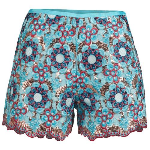 Vêtements Femme Shorts / Bermudas Manoush FRESQUE Bleu