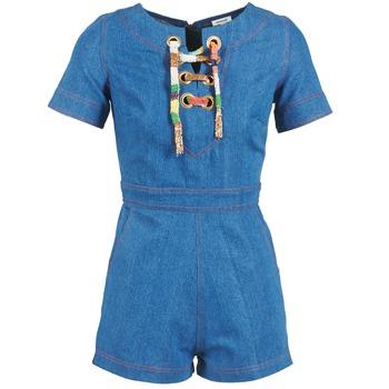 Vêtements Femme Combinaisons / Salopettes Manoush LACET Bleu Jean