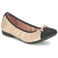 Chaussures Femme Ballerines / babies Mam'Zelle NUPO Beige / Noir