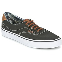 Chaussures Air max tnBaskets basses Vans ERA 59 Noir / Rayures denim