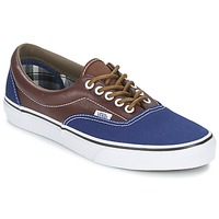 Chaussures Homme Baskets basses Vans ERA Marine / Marron