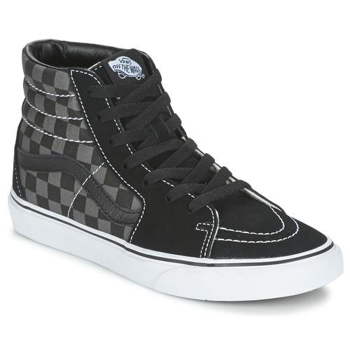 Chaussures Baskets montantes Vans SK8-HI Gris / Marron