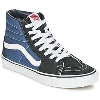Chaussures Baskets montantes Vans SK8-HI Marine / Noir
