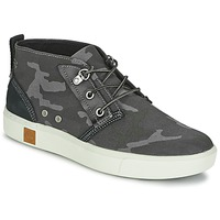 Chaussures Homme Baskets montantes Timberland AMHERST CHUKKA Gris / Camouflage noir