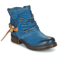 Chaussures Femme Boots Airstep / A.S.98 SAINT Bleu canard