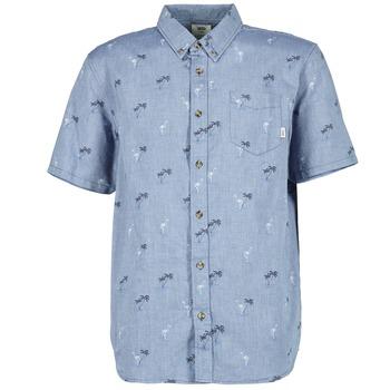 Vêtements Homme Chemises manches courtes Vans HOUSER SS Bleu
