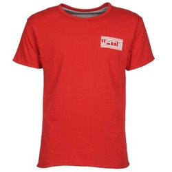 Vêtements Homme T-shirts manches courtes Wati B WATI CREW Rouge