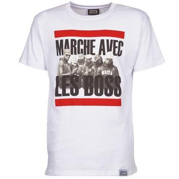 Vêtements Homme T-shirts manches courtes Wati B BOSS Blanc