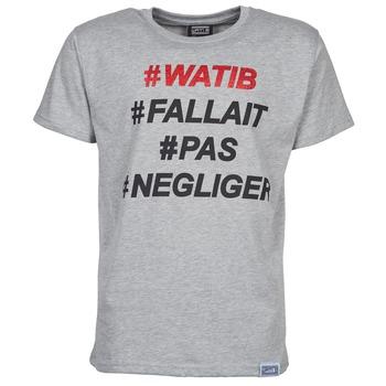 Vêtements Homme T-shirts manches courtes Wati B NEGLIGER Gris