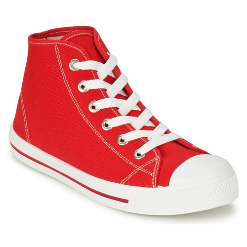 Chaussures Homme Baskets montantes Yurban WAXI Rouge