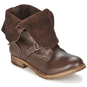 Chaussures Femme Boots Casual Attitude DISNELLE Marron