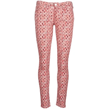 Vêtements Femme Jeans slim Lee SCARLETT Rouge Orange