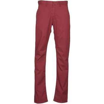 Vêtements Homme Chinos / Carrots Lee CHINO OXBLOOD Rouge