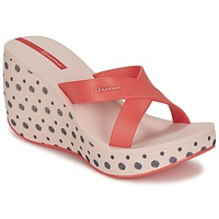 Chaussures Femme Mules Ipanema LIPSTICK STRAPS II Rouge / Rose