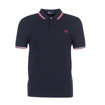 Polos manches courtes Fred Perry TWIN TIPPED SHIRT