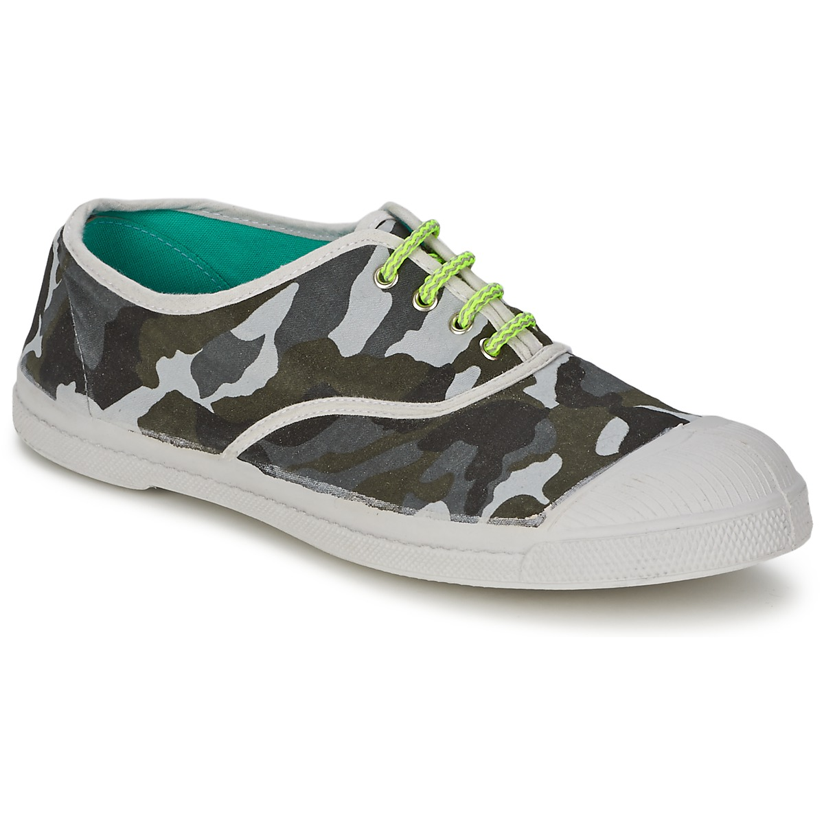 bensimon tennis camofluo camouflage chaussure pas cher avec chaussures baskets. Black Bedroom Furniture Sets. Home Design Ideas