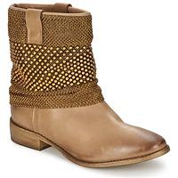 Chaussures Femme Boots Strategia MAILLETT Doré