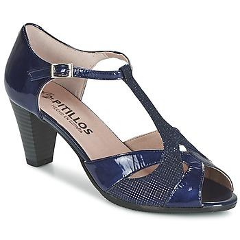 Chaussures Femme Sandales et Nu-pieds Pitillos MARILOU Marine