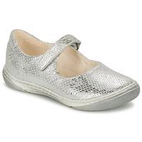 Chaussures Fille Ballerines / babies Shoo Pom MILA BABY Argent